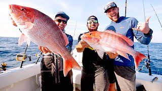 GIANT Snapper Fishing with Dude Perfect