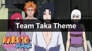 Naruto Shippuden Unreleased Soundtrack - Team Taka