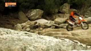 KTM EXC MY15 - action video