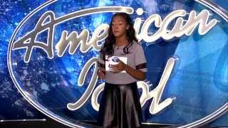 """American Idol Audition - Kelly Clarkson's  """"A Moment Like This"""" cover by Anise Daniel !"""