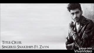 Snakehips Ft. ZAYN - Cruel (Lyrics)