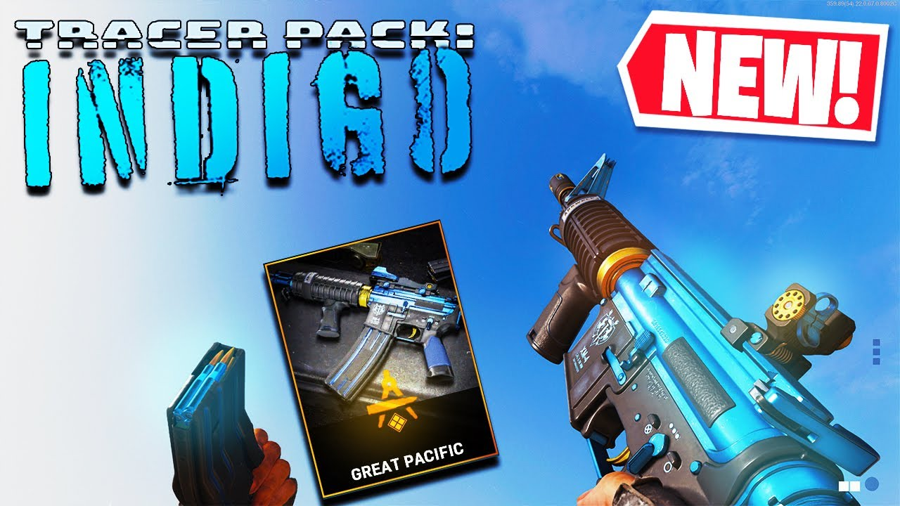"""PrimitiveAK - THE NEW XM4 """"GREAT PACIFIC"""" BLUE TRACER PACK in COLD WAR (Tracer Pack: INDIGO BUNDLE!)"""