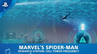 Marvel's Spider-Man (PS4) - Research Station - Cell Tower Frequency