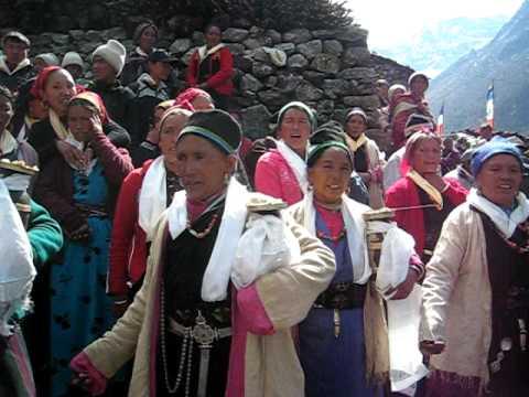 Nepal, Langtang, day 2 – Mar 29, 2009 – clip 02