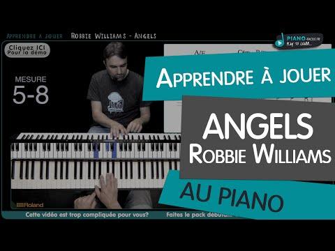 Comment jouer Angels de Robbie Williams au piano
