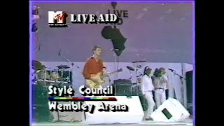 The Style Council - Big Boss Groove (MTV - Live Aid 7/13/1985)