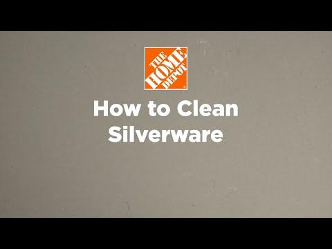 A video describing how to clean silver.