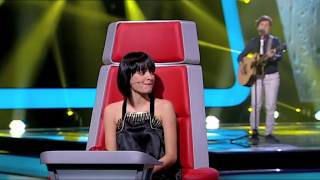 "Dora Oliveira - ""Let It Rain"" Amanda Marshall - Prova Cega - The Voice Portugal - Season 2"