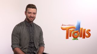 "Justin Timberlake - ""Trolls"" Press Medley Interviews 2016"