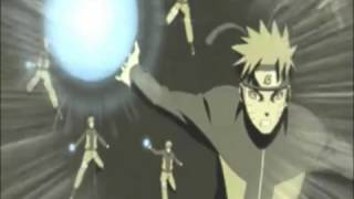 Naruto VS Nine Tails (Kyubi) AMV