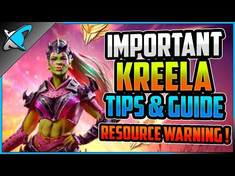 *WARNING* Kreela Fragments | Important Tips & Guide | Resource Drain !?! | RAID: Shadow Legends