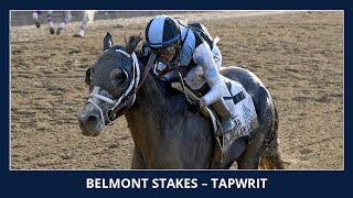 Tapwrit wins the 2017 Belmont Stakes