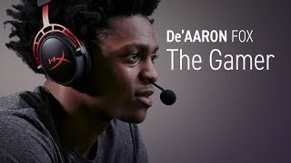 De'Aaron Fox - NBA Player, Video Game Player