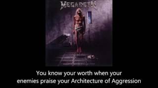 Megadeth - Architecture Of Aggression (Lyrics)