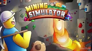 Roblox | help my friend rich in mining simulator