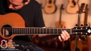 Morgan Concert Cutaway Acoustic Guitar Played By Carl Minner