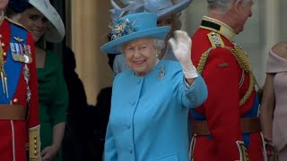 Queen Elizabeth II celebrates her 92nd birthday with a parade