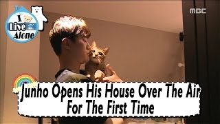 [I Live Alone] Junho(2PM) - He Reveals His Home At The First Time 20170428