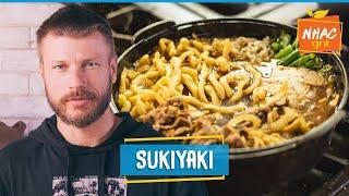 Sukiyaki: aprenda a fazer prato japonês com UDON CASEIRO   Rodrigo Hilbert   Tempero de Família