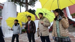 Macao prohíbe los paraguas