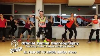 AL FILO DE TU AMOR/Carlos Vives/Official Zumba Choreography