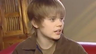 Justin Bieber Shares Adorable Throwback Video of First TV Interview