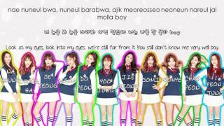 I.O.I - Hold Up (Wait A Minute) Color Coded Lyrics (Rom|Hang|Eng)