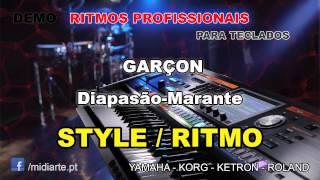 ♫ Ritmo / Style  - GARÇON - Diapasão-Marante