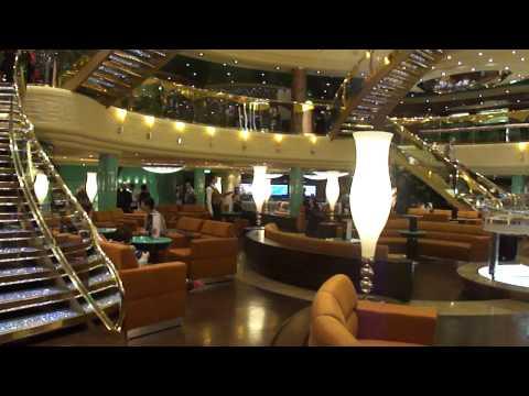 MSC Fantasia Cruise Ship Deck 6 Magnifico Main Foyer ' Le Vele '