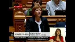 """Mariana Aiveca: """"O subsídio de desemprego não é uma esmola"""""""