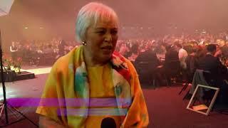 Dame Winnie Laban wins gold