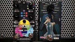 Improvisation: Reverb , Delay , Harmonizer , Alexander Colour Theory , Overdrive , Miku Stompbox