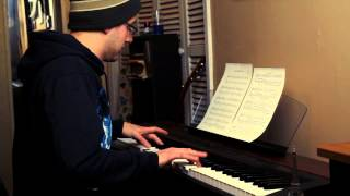 The Hobbit - Misty Mountains Song for Solo Piano HD + Sheets