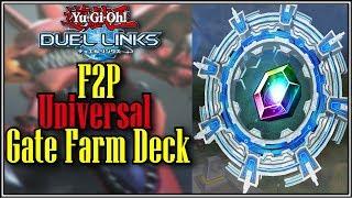 F2P Universal Gate Farm Deck, YTDan Yu-Gi-Oh! Duel Links