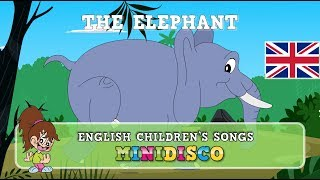 The Elephant | children's songs | nursery rhymes | kids dance songs by Minidisco