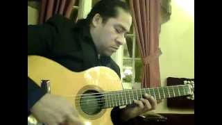 Mario Aleman plays Los Lobos (w Antonio Banderas) - Canción Del Mariachi (Morena De Mi Corazon).mp4
