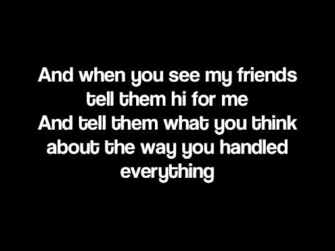 When You See My Friends By Mayday Parade Lyrics Chords Chordify