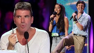 Loved Up Couple Blows Simon Cowell Away With Britney Spears 'Toxic' Cover