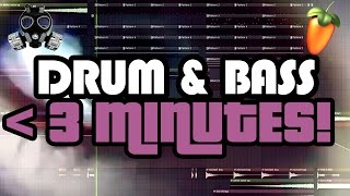 DRUM & BASS IN UNDER 3 MINUTES