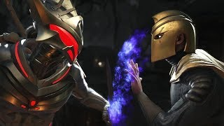 Injustice 2 : Black Manta Vs Doctor Fate - All Intro/Outros, Clash Dialogues, Super Moves