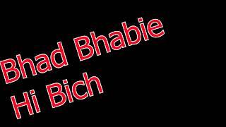 Bhad Bhabie - Hi Bitch (lyric Video)