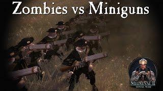 5000 zombies vs Empire miniguns - Call of Warhammer - Medieval 2 Total War
