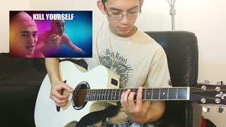 Pink Guy - Kill Yourself on Acoustic Guitar