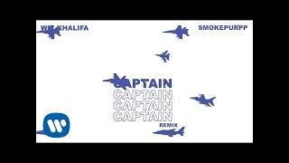 Wiz Khalifa - Captain Remix feat. Smokepurpp [Official Audio] width=