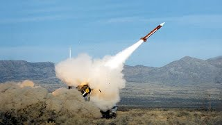Real beat of missile falling on the ground,exploded ! the whole process military weapons