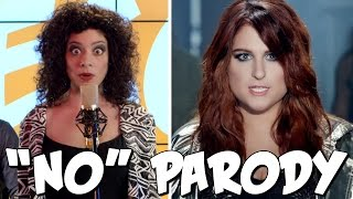 Meghan Trainor No PARODY! The Key of Awesome UNPLUGGED!