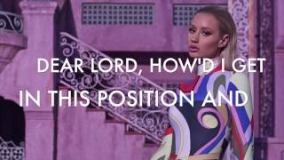 Iggy Azalea - Trouble Ft. Jennifer Hudson Lyrics