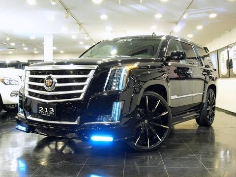 Custom Escalades on Lexani Wheels & Next Nation body kits