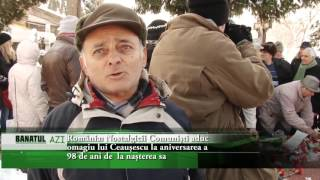 România  Nostalgicii Comuniști aduc omagiu lui Ceaușescu  la aniversarea a 98 de ani de  la nașterea