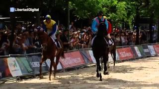 Los caballos invaden la Castellana de Madrid